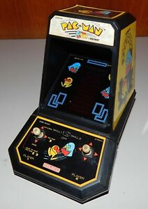 Vintage 1981 Coleco Pac Man Midway Mini Arcade Table Top Video Game 2390 Project