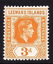 LEEWARD ISLANDS 1938-51 3d ORANGE SG 107 MINT.