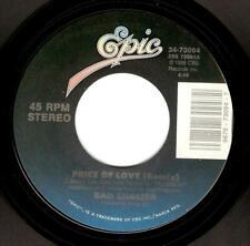 BAD ENGLISH Price Of Love Vinyl Record 7 Inch US Epic 34-73094 1989