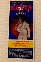 Vintage Elvis A-Rama Brochure Nashville Presley King Tribute Collectible 80s