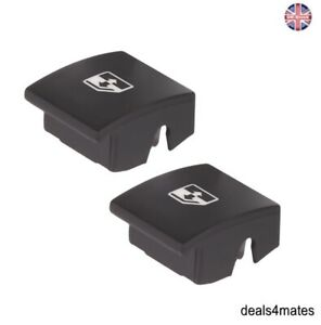 2x Electric Window Control Button Switch Caps Cover For Vauxhall Opel Astra H
