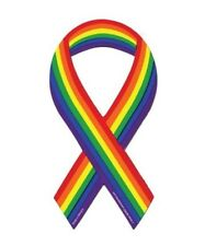 Gay Rights magnetic ribbon  for car