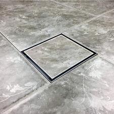 6 Inch Square Tile Linear Shower Drain Floor Drain with Tile insert Grate