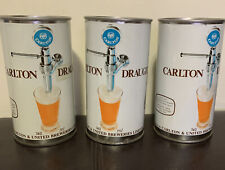 🤩Carlton Draught foreign beer can; Australia370 ml, Top Opened,Perfect For Bar