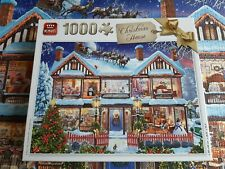 King 1000 piece jigsaw puzzle - Christmas House