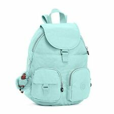 NWT Kipling Firefly Backpack light School Travel Shoulder Bag Seafoam Green Mint
