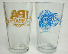 SweetWater Brewing Company Pint Beer Glasses-Crank Tank Rye'd & India Pale Ale-2