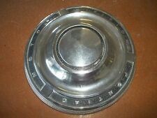 Pontiac Motor Division Hubcap Rim Wheel Cover Center Hub Cap OEM USED DOG DISH