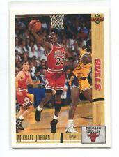 1991-92 Upper Deck #44 Michael Jordan Chicago Bulls