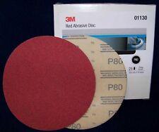 "3M Red 1187 Hook It 6"" Disc Sandpaper 800 grit 50/bx"