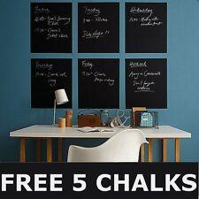 45×200cm Blackboard Removable Vinyl Wall Sticker Chalkboard Decal Chalk Board AU