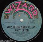 ANDY UPTON Stop In The Name Of Love / Born In A Taxi 1977 OZ 45 Wizard