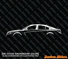 2x silhouette stickers aufkleber for Opel Insignia 5-tür 2007-17 | tuning