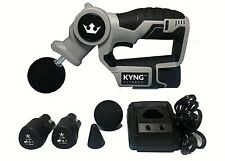 Kyng Fitness Professional Deep Muscle Massager! Handheld Percussion Massage Gun!