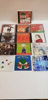 Christmas Music Lot of 10 CDs Various Artists & Titles 2 Sealed Amy Grant Newton