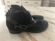Halmanera women's suede ankle boots, size 40 (10)