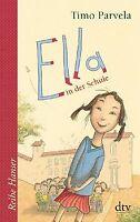 Ella in der Schule von Parvela, Timo   Buch   Zustand gut