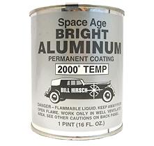 Bill Hirsch Space Age Brillante Aleación 2000F Colector de escape del encabezado Recubrimiento De Pintura