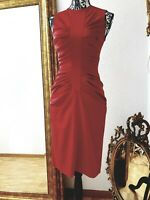 Christian Dior, Damen Kleid, Rot, Weinrot, Gr.36, Elegant, Klassik,Neu, KP 1.700