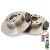 Brake discs Brake pads front front axle for Mercedes-Benz 190 W201