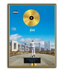 Ninho Poster, Destin GOLD/PLATINIUM CD, gerahmtes Poster HipHop Rap WallArt