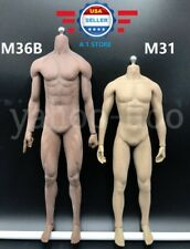 ~IN STOCK~ PHICEN M36B 1/6 Seamless DARK SKIN Male Muscular Body Michael Jordan