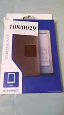Exspect Kindle Protective Back Shell Leather Look Brown 108/0029