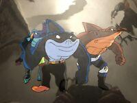 Rare Street Sharks Original Production Animation CelBig Jab Streex Ripster