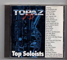 (JD965) Topaz Jazz, Top Soloists, 21 tracks various artists - 1995 CD