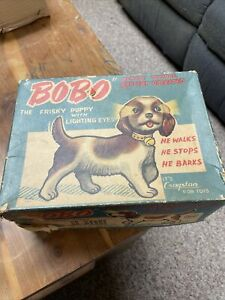 BoBo The Frisky Puppy Battery Operated With Original Box Used