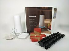 SimpliSafe Wireless Home Security Kit with Alexa and Google - 10 Pc- No Keyfob