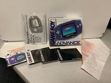 NO GAME Nintendo Gameboy Advance Box + Inserts