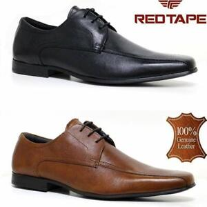 MENS REAL LEATHER ITALIAN LACE UP CASUAL OFFICE SMART LONDON FORMAL WORK SHOES
