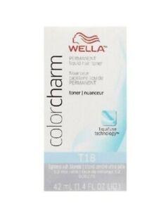 Brand New Wella T18 - Lightest Ash Blonde 1.4oz  UK FREE POSTAGE