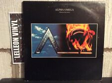 Alpha Omega Gatefold LP + Booklet Album Vinyl Record UAR101 Rock 80's
