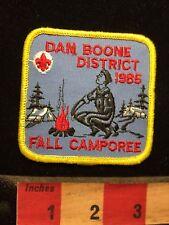 Vtg Daniel DAN BOONE DISTRICT FALL CAMPOREE 1985 BSA Boy Scouts Patch 70V7