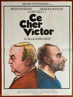 Plakat Ce Cher Victor Robin Davis Bernard Blier Jacques Dufilho 40x60cm
