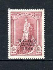 Australia 1946-47 BCOF Australia opt MNH
