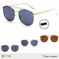 Retro AVIATOR Sunglasses Vintage BROW BAR New Men Women Fashion Frame Glasses