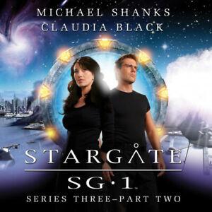 STARGATE SG:1 Big Finish Audio CD Series 3 - Set 2 (Shanks & Black)