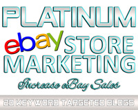 🔥 PLATINUM eBay Marketing and Blog Design with 20 eBay listings promoted! 🔥