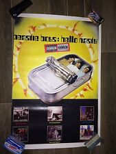 Beastie Boys Poster 24 X 35 Early Vintage Hello Nasty/Anthology New & Sealed