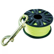 Scuba Max DR-04-Y 150 Ft Finger Spool with Brass Clip