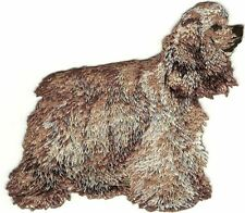 "3.75"" American Cocker Spaniel Embroidery Patch"