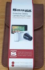 Camera Case Bag Pouch For Samsung Galaxy Camera Brown Leather