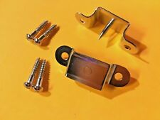 Leather Handle Bolsters w/ screws fits Fender Tweed Deluxe Champ Princeton Amps