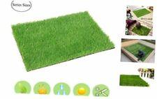 Artificial Grass Door Mat Fake Grass Rug Entrance Carpet Doormat for Indoor Out