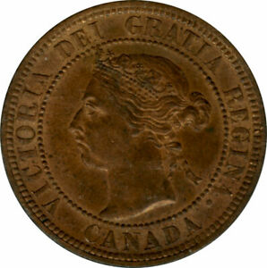 1 Cent Canada 1890 MS63RB - PCGS