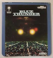 Blue Thunder Roy Scheider,Daniel Stern CED RCA Selectavision VideoDisc