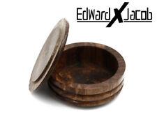 EXJ - She-sham Wood Bowl for Shaving, Shaving Brush, Shaving Bowl, Shaving Mug